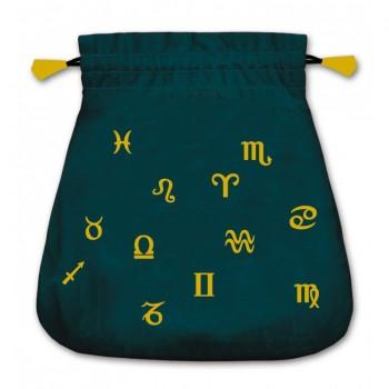 Astrological velvetinis maišelis kortoms