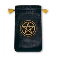 Pentacle Mini velvetinis maišelis kortoms