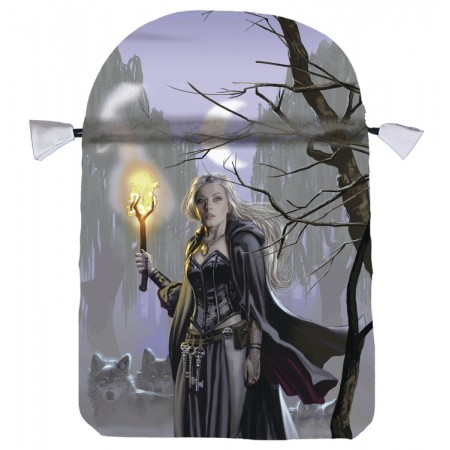 Witches Moon satino maišelis kortoms