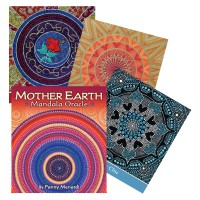 Mother Earth Mandala Oracle kortos