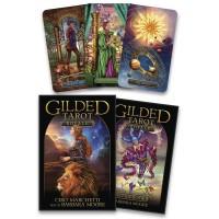 Gilded Tarot Royale kortos ir knyga
