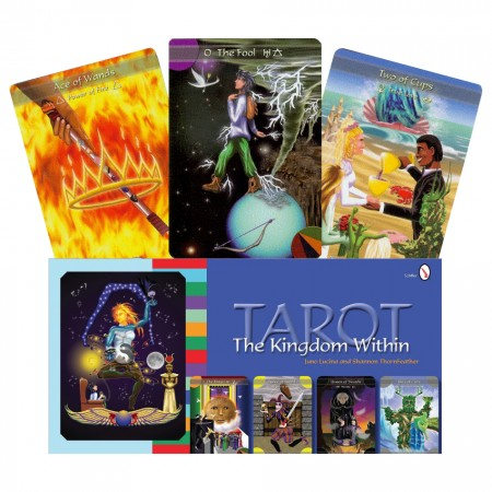 The Kingdom Within Tarot kortos