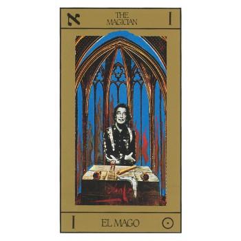 Salvador Dali Deluxe Tarot Gold Edition: Gilded kortos ir knyga