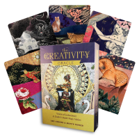 The Creativity Oracle kortos ir knyga