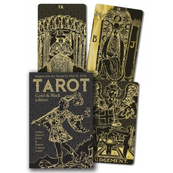 Tarot Gold & Black Edition taro kortos