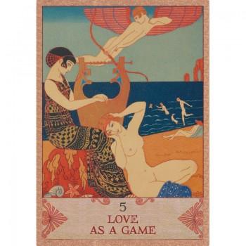 Amor et Psyche Orakulo kortos