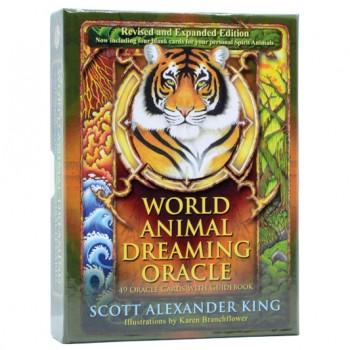 World Animal Dreaming Oracle kortos