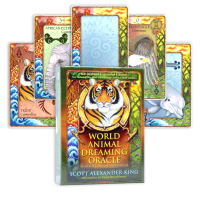 World Animal Dreaming Oracle kortos