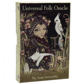 Universal Folk Oracle kortos