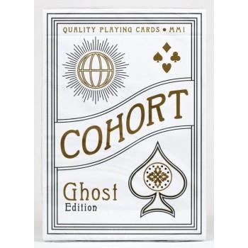 Ellusionist Cohort Ghost Edition žaidimo kortos