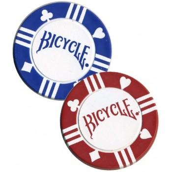 100 Pokerio žetonų rinkinys su dėklu Bicycle