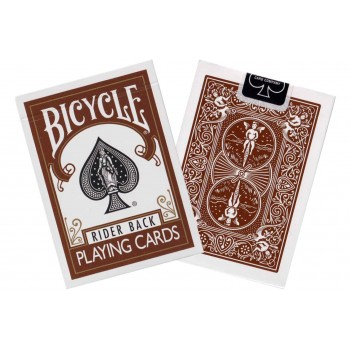 Bicycle Rider Back kortos (Rudos)