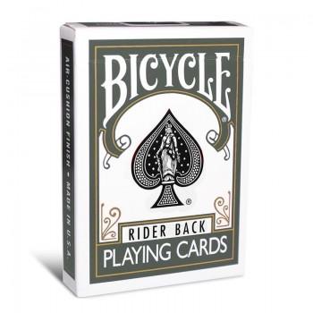 Bicycle Rider Back kortos (Pilkos)