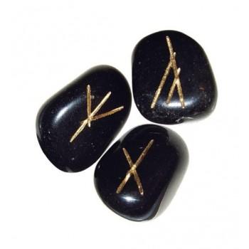 Black Agate Runos (juodojo agato)