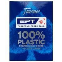 Fournier EPT pokerio kortos (Mėlynos)