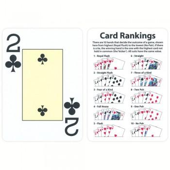 Fournier EPT pokerio kortos (Raudonos)