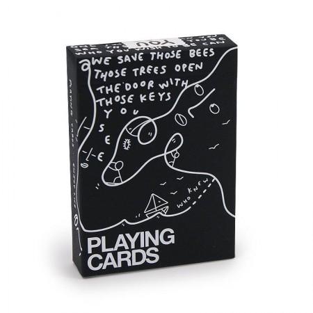 Shantell Martin Whitney Black Theory11 žaidimo kortos