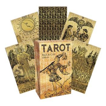 Tarot Black & Gold Edition taro kortos