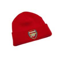 Arsenal F.C. atlenkta žieminė kepurė (Raudona)