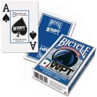 Bicycle WPT pokerio kortos (Mėlynos)