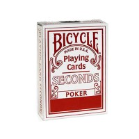 Bicycle Seconds cards (Red)