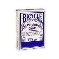 Bicycle Seconds cards (Blue)