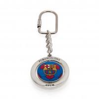F.C. Barcelona sukamas raktų pakabukas