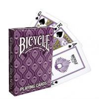 Bicycle Peacock kortos (Violetinės)