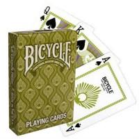 Bicycle Peacock kortos (Žalios)