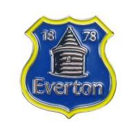 Everton F.C. prisegamas logotipo formos ženklelis