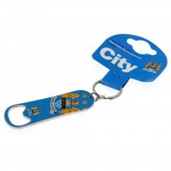 Manchester City F.C. butelio atidarytuvas - raktų pakabukas